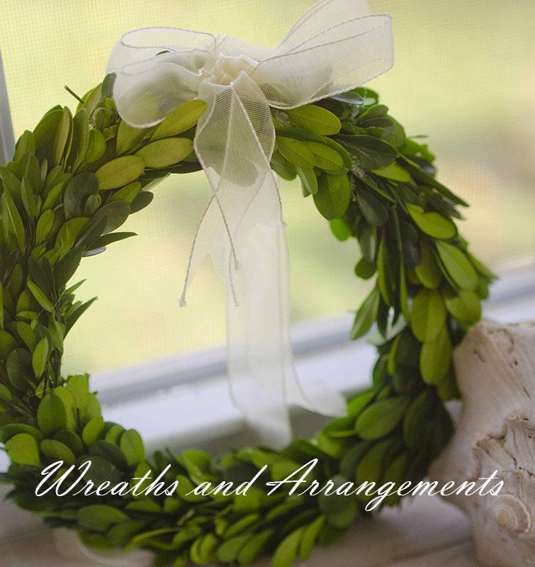 Wreaths and arrangements