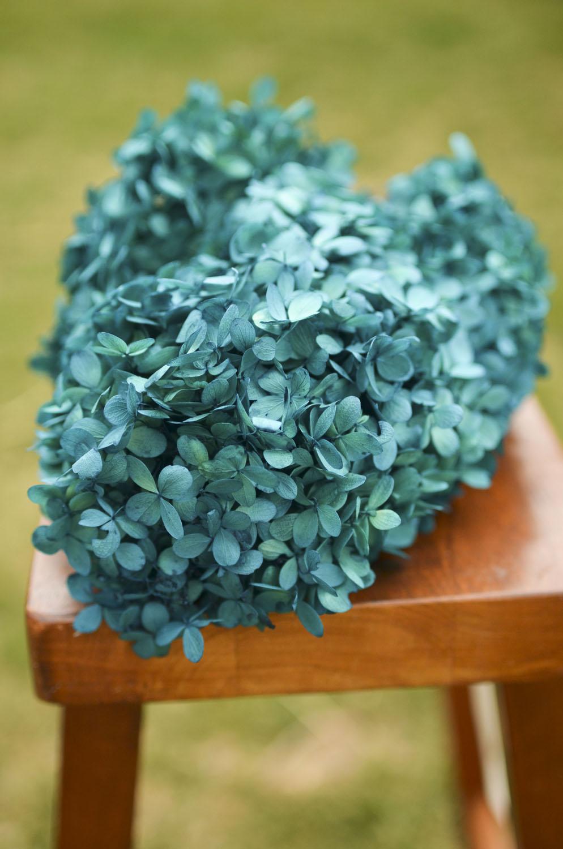AQUA_Preserved Turquoise Hydrangea | The Blaithin Blair Shop